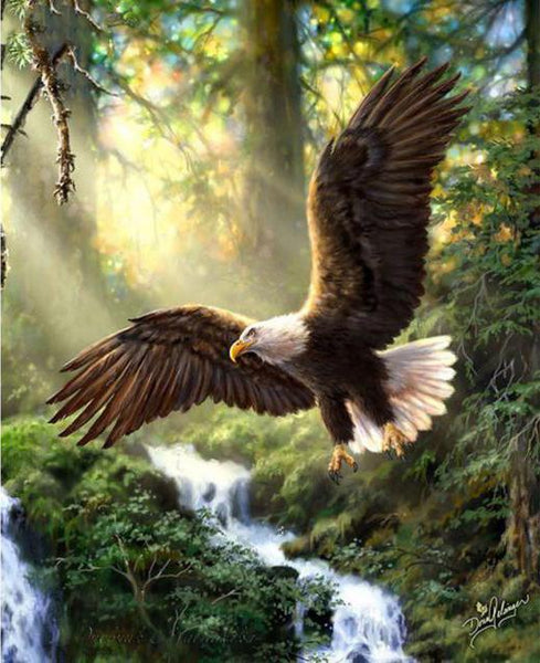 5D DIY Diamond Painting Embroidery Cross Stitch Kits Eagle VM90515