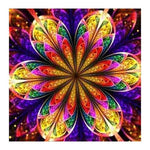 2019 5d Diy Diamond Painting Kits Rainbow Flower Mandala BQ5020