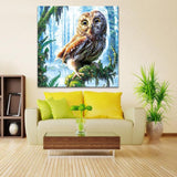 5D DIY Diamond Painting Owl Kits Animal Modern Art  VM90533