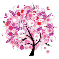 Hot Sale Dream Wall Decoration Colorful Tree 5d Diy Diamond Embroidery Kits VM3775 (1767019348058)