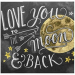 2019 5d Diy Diamond Painting Kits LOVE You Moon Blackboard VM9098