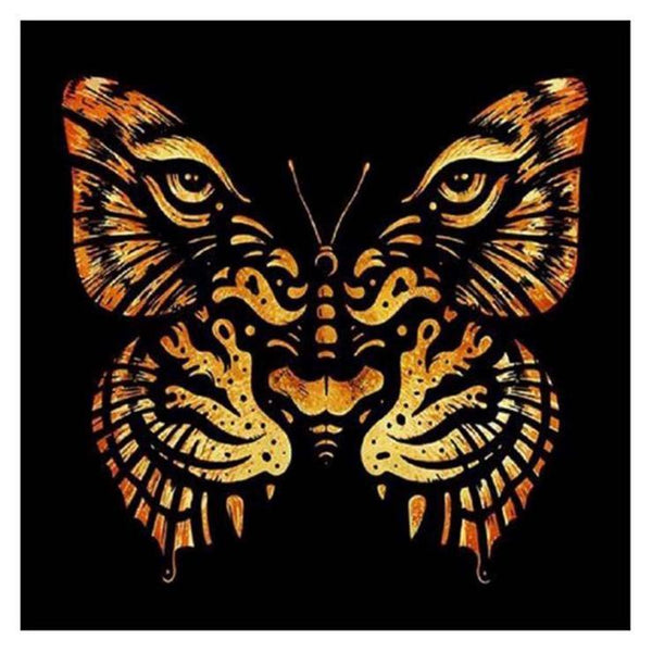 Cheap Abstract Style Butterfly Diy 5d Full Diamond Painting Kits QB05498