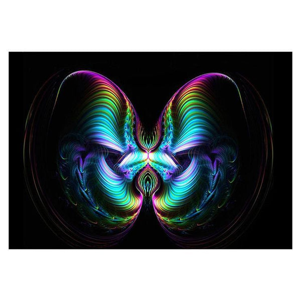 5d Full Diamond Painting Kits Abstract Style Butterfly Diy QB5499