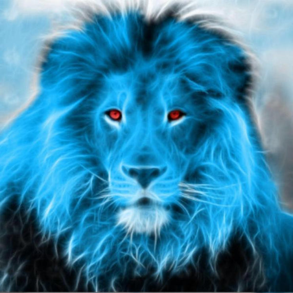 5d Full Diamond Painting Kits Dream Style Lion Pattern Diy QB5851