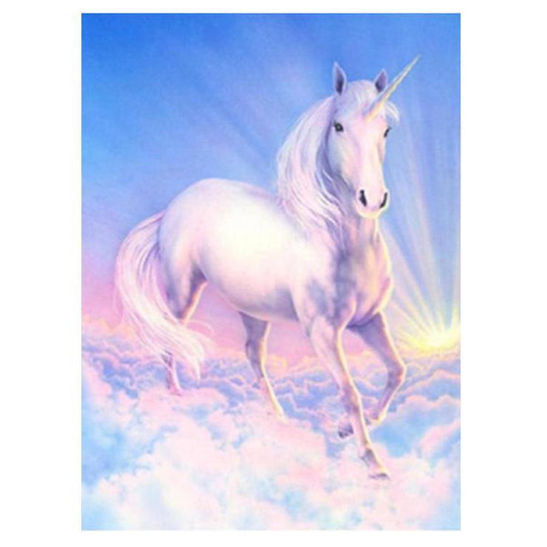 Fantasy Dream Unicorn Pattern Embroidery Stitch Diy 5d Diamond Painting Kits QB5414