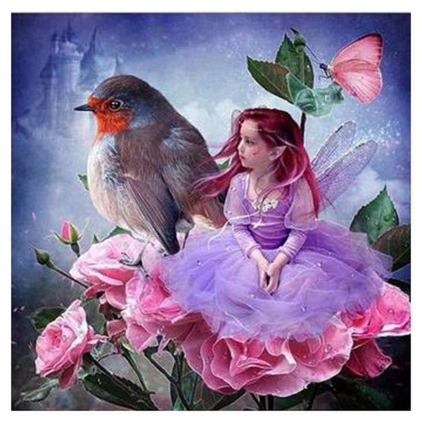 5d Diamond Painting Kits Fairy Portrait Pattern QB5940