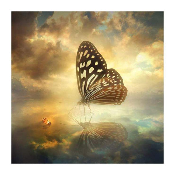 New Fantasy Style Butterfly Diy 5d Full Diamond Painting Kits QB5711