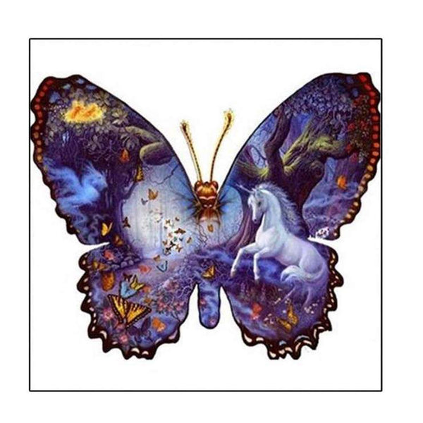 2019 5d DIY Diamond Painting Kits Fantasy Style Butterfly QB5712