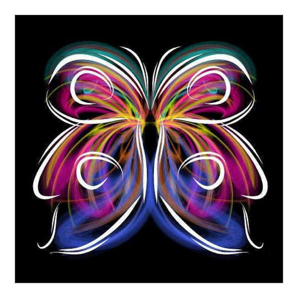 2019  5d DIY Diamond Painting Kits Butterfly QB5574