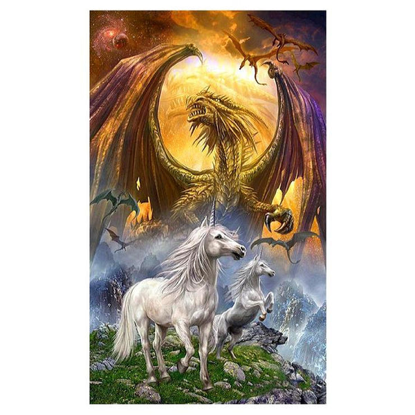 5d Diamond Painting Kits Best Mystical Unicorn Stitch Diy QB05427
