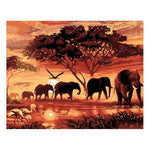 2019 5d Diamond Painting Kits Elephant Diy QB5385