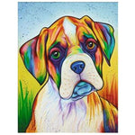 5d Diamond Painting Kits Watercolor Pet Dog QB5447