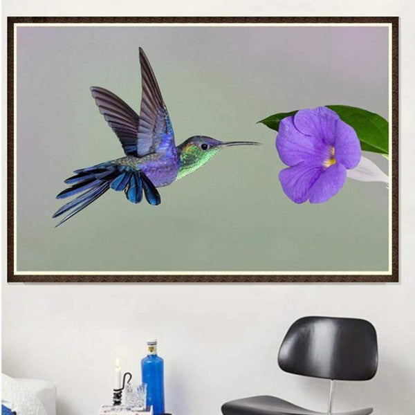 5d Full Drill Diamond Painting Kits Best Style Bird QB5825