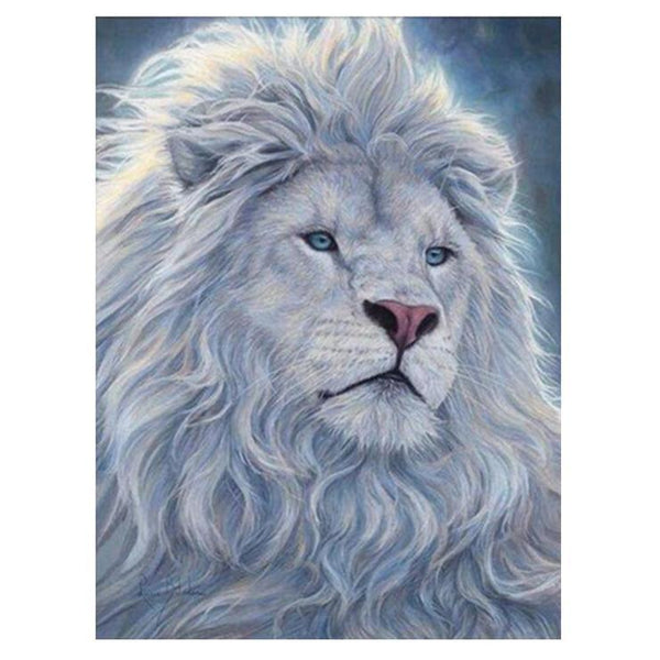 For Beginners Style Lion Pattern Diy 5d Full Diamond Painting Kits QB58601