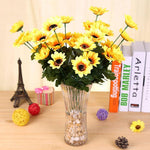 Cheap Yellow Sunflower Diy 5d Full Diamond Painting Kits QB5782