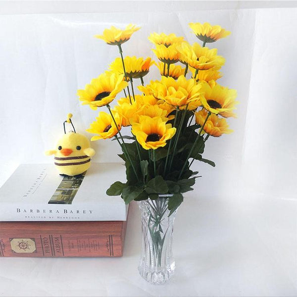 For Beginners Yellow Sunflower Diy 5d Full Diamond Painting Kits QB5783