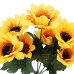 For Beginners Yellow Sunflower Diy 5d Full Diamond Painting Kits QB5785
