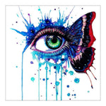 Cheap New Arrival Eye Portrait 5d Diy Cross Stitch Diamond Painting Kits QB6215