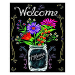 5d DIY Diamond Painting Welcome Home Blackboard  AF9042