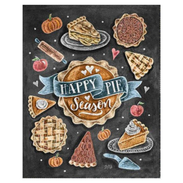 Happy Pie Blackboard Diamond Painting AF9040