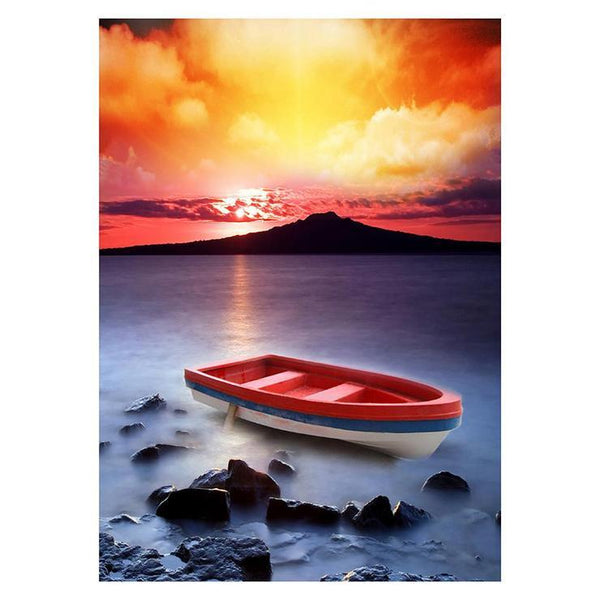 Fantasy Styles Winter Series 5d Diy Boats Diamond Painting Kits AF9009