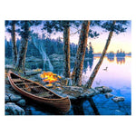 Hot Sale Autumn Series 5d Diy Boats Diamond Painting Kits AF9007
