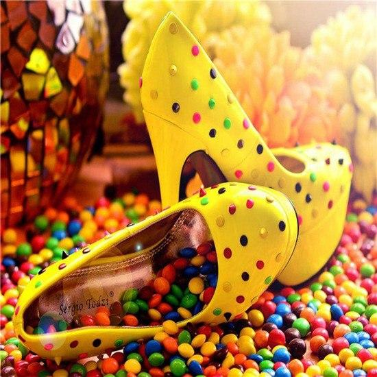 5D DIY Diamond Painting Kits Special Candy Shoes Icon NB0095