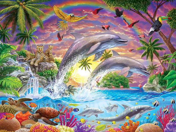 5D DIY Diamond Painting Kits Cartoon Multicolored World VM90741