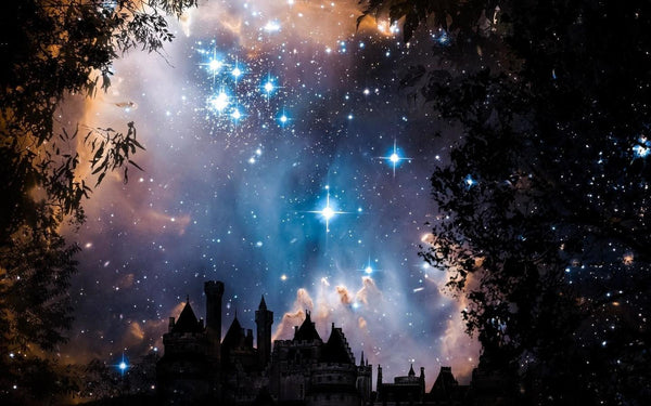Hot Sale Dream Castle Starry Sky 5d Diy Diamond Painting Kits VM9506