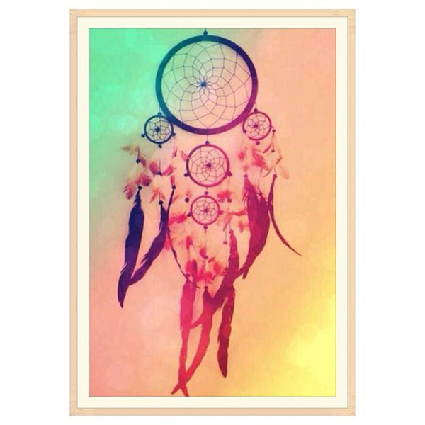 Cheap Dream Catcher Picture 5d Diy Embroidery Diamond Painting Kits QB8033