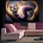 Cheap Funny Cartoon Cat 5d Diy Embroidery Diamond Painting Kits QB8021