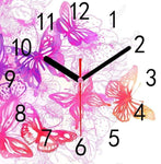 Dream Butterfly Clock 5d Diy Embroidery Cross Stitch Diamond Painting Kits NB0210