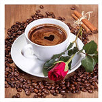 Coffee Cup 2019 New Hot Sale DIY Diamond Painting Cross Stitch Kits VM77451