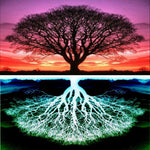 Colorful Decor Fantasy Dream Tree 5d Diy Diamond Painting Kits VM91654