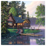Hot Sale Dream Pretty Cottage Diamond Painting Kits AF9618