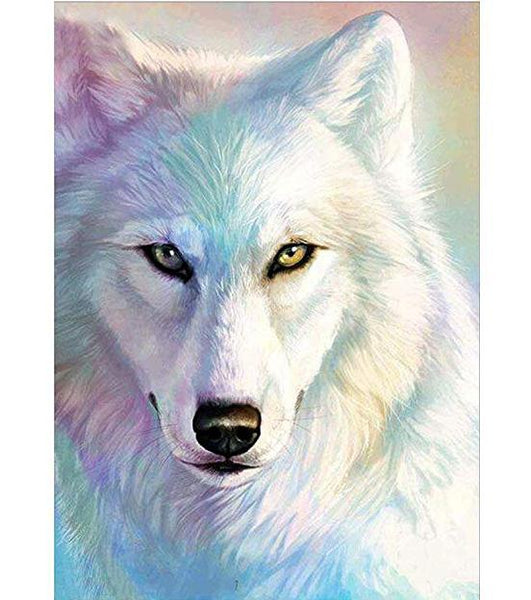 5d  Diamond Painting  Dream Full Square Wolf VM8602