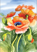 5d Diamond Painting Kits Watercolor Flower Diy VM08714