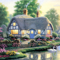 2019 5d Diy Diamond Painting Kits Dream Cottage  VM8383