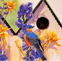 2019 5d Diy Diamond Painting Kits Blue Bird VM89378
