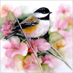 Oil Painting Style New Arrival Cute Bird 5d Diy Diamond Painting Kits VM89381