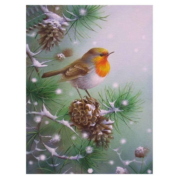 Dream Winter Animal Snow Bird 5d Diy Diamond Painting Kits VM8999