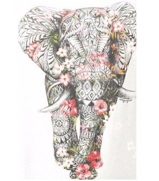 5d Diy Diamond Painting Kits Special Elephant VM9067