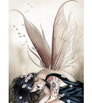 Fantasy Dream Fairy Girl Portrait  5d Diamond Painting Kits VM8691