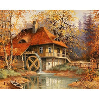 2019 5d Diy Diamond Painting Kits Dream Cottage VM8379