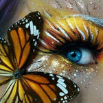 2019 5D Diy Diamond Painting Kits Mosaic Butterfly Eye VM90865