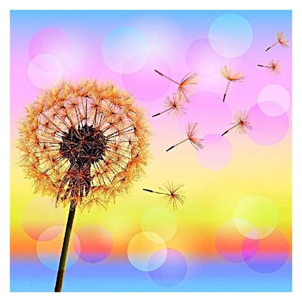 2019 5d DIY Diamond Painting Kits Dandelion Wall Decor QB5141