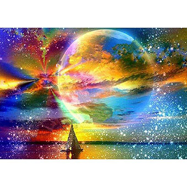 5d  Diamond Painting Landscape Sky Star Moon VM20041