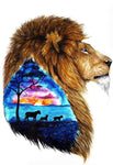 Dream Lion 5D DIY Embroidery Cross Stitch Diamond Painting Kits NA0840