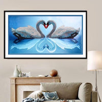 2019 5d Diamond Painting Kits Swan VM75417