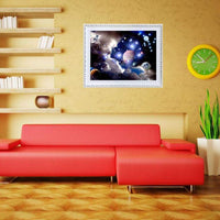 2019 5d Diy Diamond Painting Kits Space Star Wall Decor VM7885
